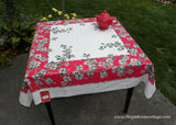 Vintage MWT Royal Art Dogwood Tablecloth