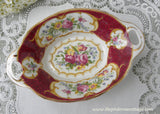 Vintage Royal Albert Lady Hamilton Handled Mint or Trinket Dish