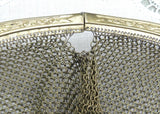 Antique Mesh Flapper Purse with Sapphire Clasp