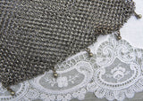 Antique German Silver Mesh Purse Handbag