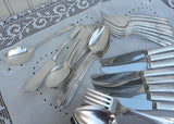 Vintage 1948 Tudor Plate Sweet Briar Flatware Set Service for 8