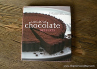 Luscious Chocolate Desserts by Lori Longbotham Hardcover Dessert Cook Book