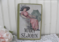 Antique Book Mary St. John by Rosa Noughette Carey Gibson Girl Cover