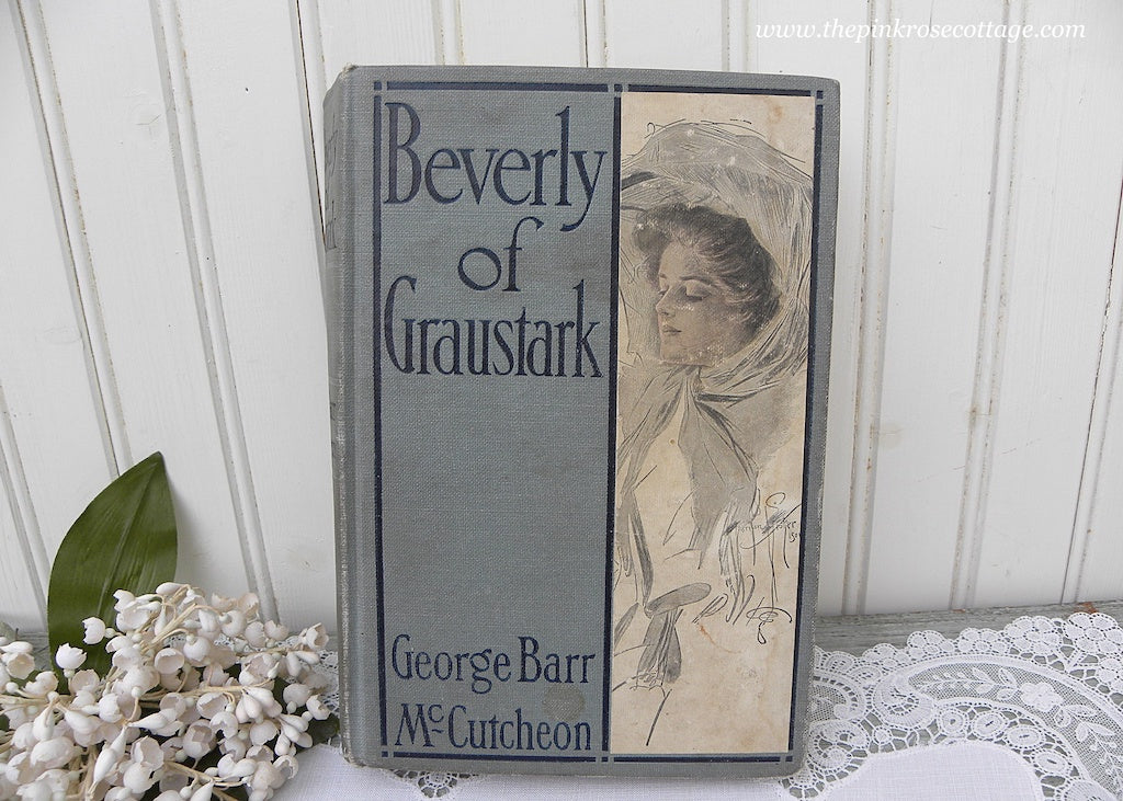 1904 Beverly of Graustark Book by George Barr McCutcheon Illustrator Harrison Fisher