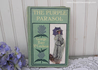 1905 The Purple Parasol by George Barr McCutcheon Illustrator Harrison Fisher