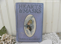 1905 Beverly of Hearts & Masks Book by Harold Macgrath Illustrator Harrison Fisher