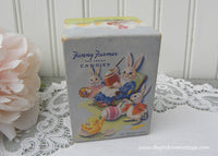 Vintage Fanny Farmer Candies Easter Bunnies Candy Box