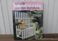 Simple Handmade Garden Furniture by Philip and Katie Haxell Hardback Book