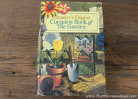 Complete Book of the Garden by Reader's Digest Vintage Hardcover Book
