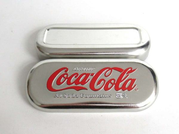 UpperDutch:Tin,Vintage Coca Cola Glasses Case.