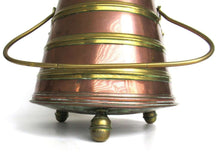 UpperDutch:Home and Decor,Antique Brass Coal Kettle, Fire Extinguisher, fire place decor.