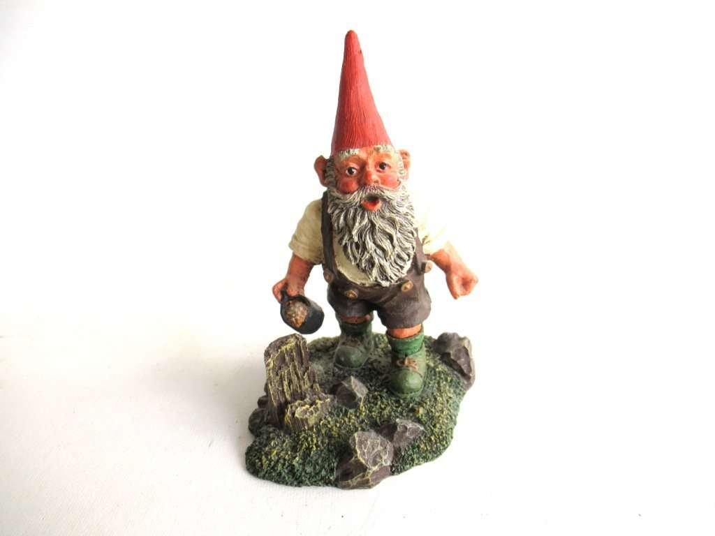 UpperDutch:Gnomes,Classic Gnomes 'Hansli' Gnome figurine after a design by Rien Poortvliet