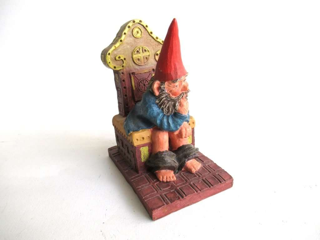 UpperDutch:Gnomes,Classic Gnomes 'Theodor' Gnome figurine after a design by Rien Poortvliet