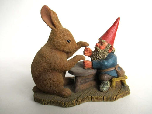 UpperDutch:Gnomes,Classic Gnomes 'Ollekebolleke' Gnome playing game Rien Poortvliet