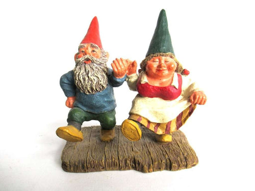 UpperDutch:Gnomes,Classic Gnomes 'What a Beautiful Day' Gnome figurine after a design by Rien Poortvliet