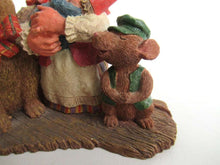 UpperDutch:Gnome,Classic Gnomes 'Living Together' Gnome Figurine after a design by Rien Poortvliet.