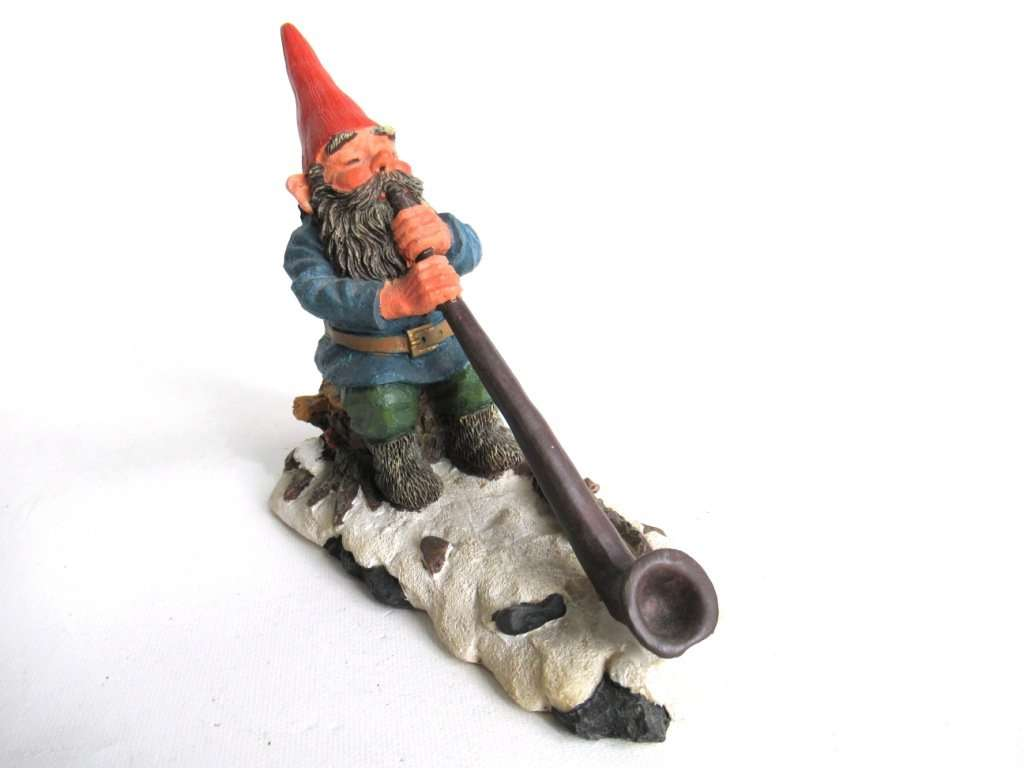 UpperDutch:Gnomes,Classic Gnomes 'Louis' Gnome Figurine Rien Poortvliet.