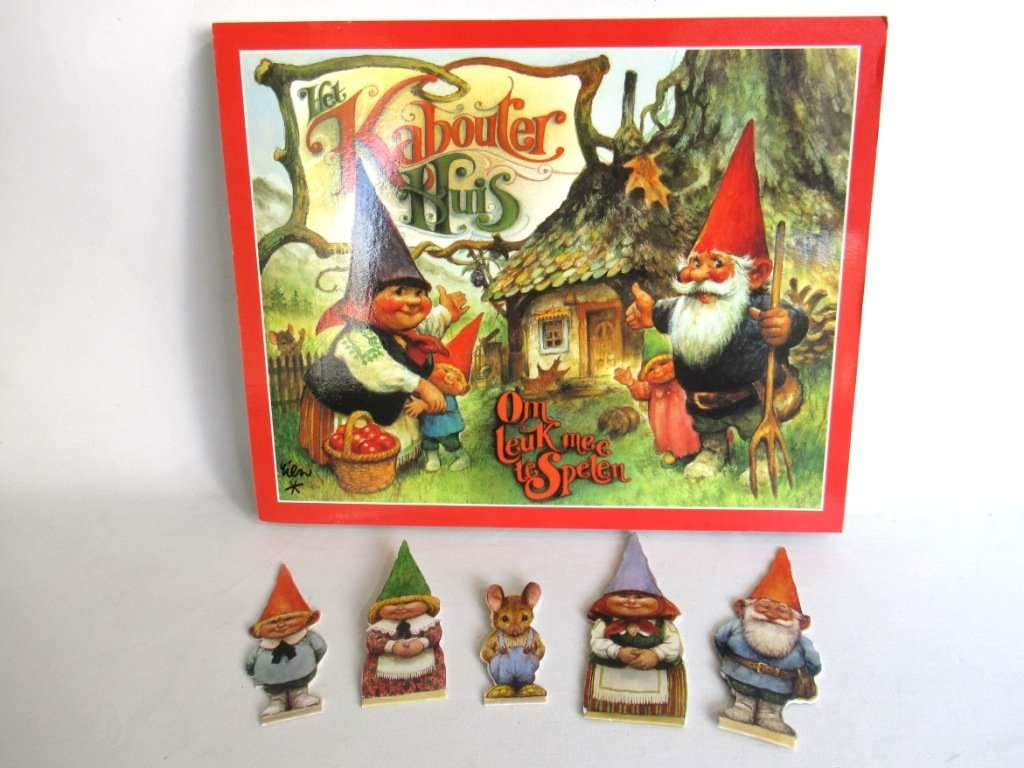 UpperDutch:Gnomes,Gnome Pop-up Book Rien Poortvliet, David the Gnome, Klaus Wickl.