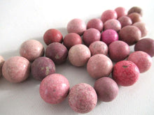 UpperDutch:,Set of 30 Pink Antique Clay Marbles.