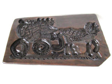 UpperDutch:Cookie Mold,Springerle, Large 24 Inch Wooden cookie mold, Horse and carriage, Dutch Folk, Bakery Decor, Shop Window.