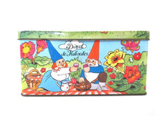 UpperDutch:Tin,David the gnome tin, storage tin, David and Lisa, Uniebroek, BRB.