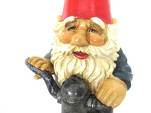 UpperDutch:Gnome,Garden Gnome statue 15 INCH after a design by Rien Poortvliet, David the Gnome.