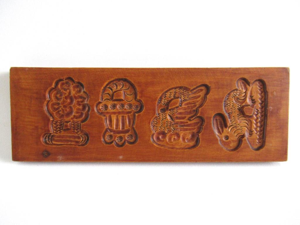 Wooden Cookie Mold, Springerle.
