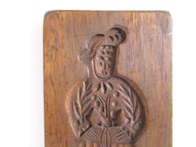 Vintage Wooden cookie mold. Springerle Cookie Mold. Speculaas plank.