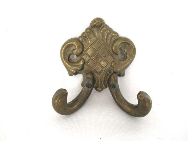 UpperDutch:Wall hook,Small Wall hook, Antique Coat hook, Towel hook, Kitchen hook, Solid brass.