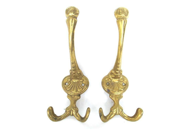 UpperDutch:Wall hook,Set of 2 Wall hooks - Coat hooks - Ornate - Victorian style hooks.