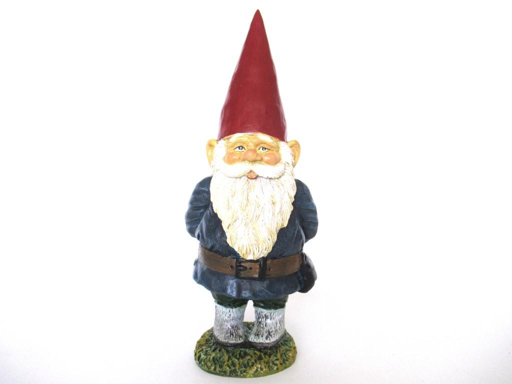 Garden Gnome 10 inch after a design by Rien Poortvliet, David the Gnome.