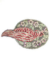 Bird Applique / 1930s Vintage Embroidered Bird applique / application / patch. Vintage patch, sewing supply.