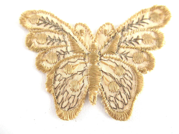 UpperDutch:Applique,Authentic Antique 1930s butterfly applique. Vintage patch, sewing supply.
