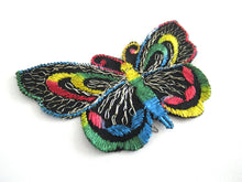 UpperDutch:Applique,Authentic Antique 1930s Butterfly applique. Vintage patch, sewing supply. Crazy quilt.