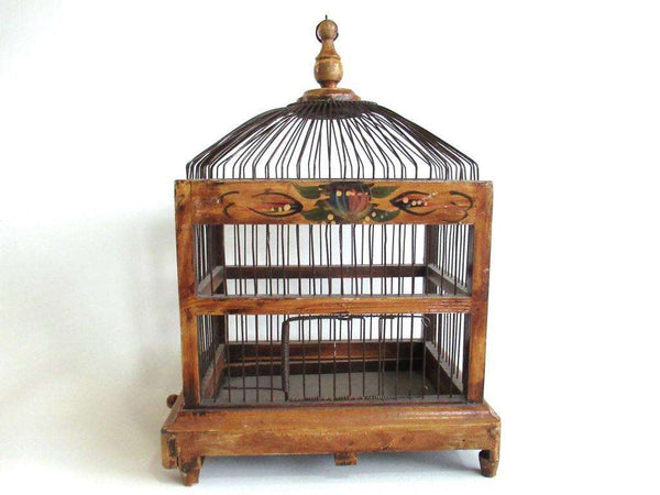 UpperDutch:Birdcage,Antique primitive Bird Cage.