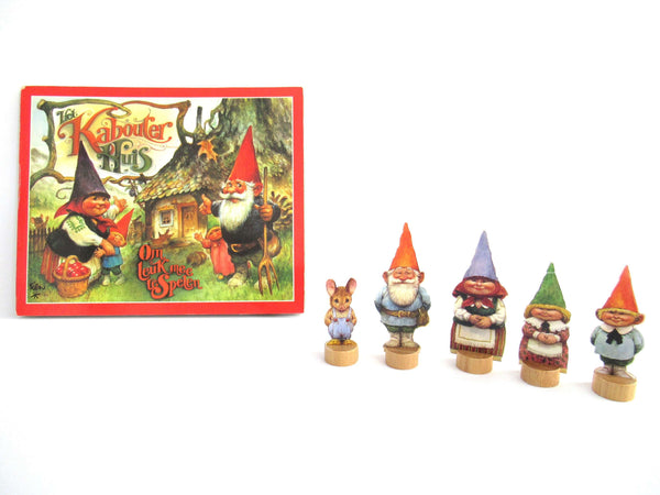 UpperDutch:Book,Gnome Pop-up Book Rien Poortvliet, David the Gnome, Klaus Wickl.