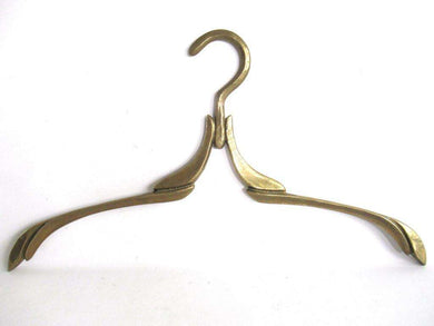 UpperDutch:Bride Hanger,1 (ONE) Art Deco Brass Clothes Hanger.