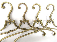 UpperDutch:Bride Hanger,1 (one) Brass Clothes Hanger, Clothes Hangers, Antique French Coat hanger, Wedding dress hanger.