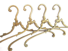 UpperDutch:,1 (one) Brass Clothes Hanger, Clothes Hangers, Antique French Coat hanger, Wedding dress hanger.
