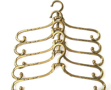 UpperDutch:Bride Hanger,1 (one) Brass Clothes Hanger, Clothes Hangers, Antique French Coat hanger, Wedding dress hanger, Swivel.