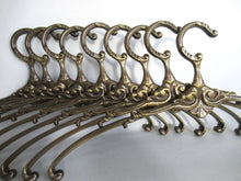 UpperDutch:,1 (ONE) Brass Clothes Hanger, Clothes Hangers, Antique French Coat hanger, Wedding dress, Victorian Style.