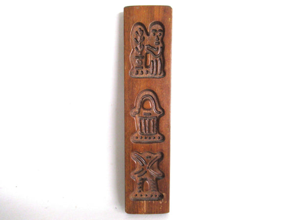 UpperDutch:Cookie Mold,Antique Wooden Cookie Mold Dutch Folk Art, speculaas plank, springerle.