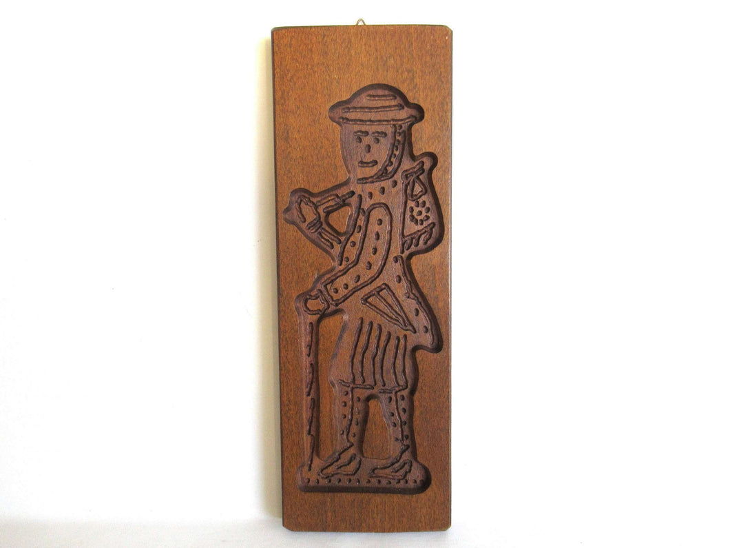 UpperDutch:,Wooden cookie mold, Dutch Folk Art Cookie Mold. speculaas plank, springerle.