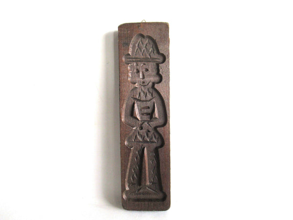 UpperDutch:Cookie Mold,Wooden cookie mold Dutch Folk Art Cookie Mold. springerle, speculoos.