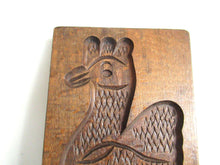 UpperDutch:,Wooden cookie mold Rooster, Dutch Folk Art Cookie Mold. Speculaas plank, springerle.