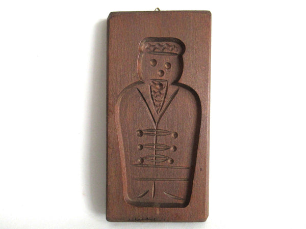 UpperDutch:Cookie Mold,Wooden cookie mold. Wooden Dutch Folk Art Cookie Mold. speculaas plank, speculoos.