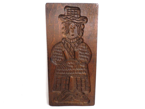 UpperDutch:Cookie Mold,Wooden cookie mold, Wooden Dutch Folk Art Cookie speculoos mold, springerle.