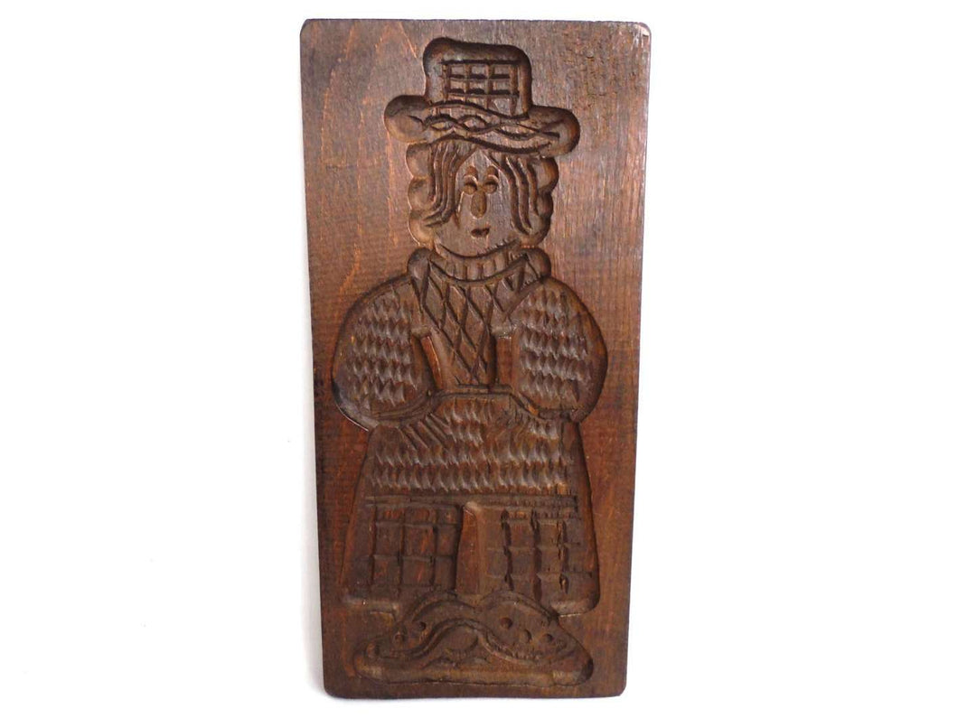 UpperDutch:,Wooden cookie mold, Wooden Dutch Folk Art Cookie speculoos mold, springerle.