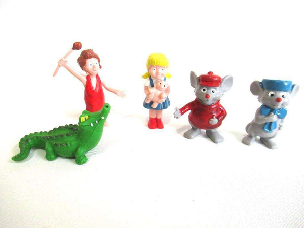 UpperDutch:Figurine,The Rescuers Heimo Collectible set of 5 figurines, Penny, Madame Medusa, Brutus, Bernard and Bianca.