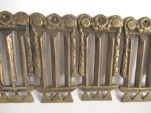 UpperDutch:Furniture applique,1 (ONE) Antique Brass Furniture Applique. Empire embellishment. Authentic hardware, restoration supply.